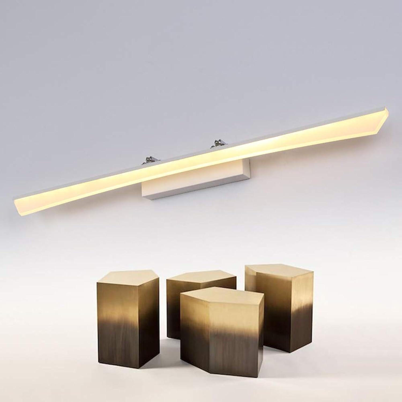 SSLW Spiegelleuchte Streifen led schaufenster Lampe persnlichkeit einfache Badezimmer Bad Beleuchtung lampen,warm,40x7x6cm