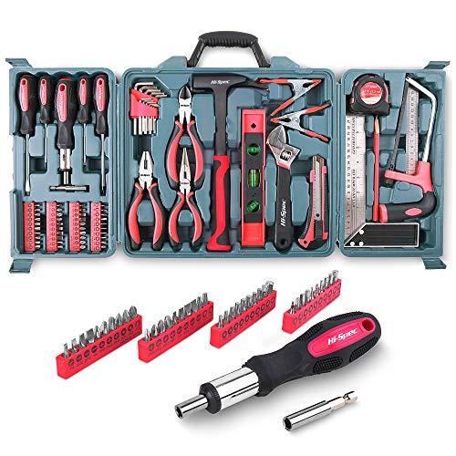 Hi-Spec Haushaltswerkzeug Set mit 71 Teilen, für jeden Einsatz in Haus, Garage oder Garten