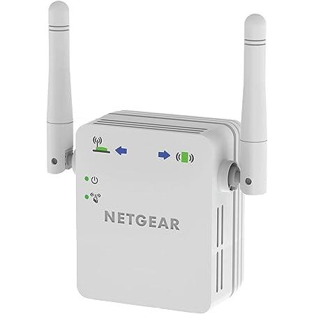 Netgear WN3000RP Repetidor WiFi N300, amplificador WiFi velocidad de hasta 300Mbps, puerto LAN Gigabit, compatibilidad universal