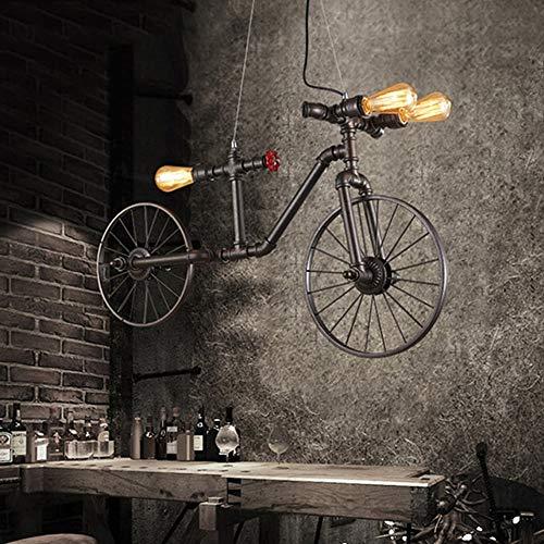 Kroonluchter Creatieve Retro Fiets Kroonluchter Industriële Wind Iron Art Craft Plafond Licht Plafond Licht Voor 10-15 Vierkante Meters Hanglamp