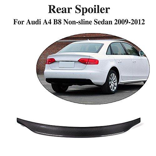 JCSPORTLINE hinten Trunk Spoiler Carbon für A4 B8 non-sline Limousine 2008-2013