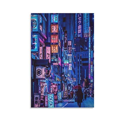 Fotografía japonesa paisaje paisaje paisaje animación papel pintado pintura al óleo creatividad lienzo arte arte arte de la pared impresión moderna familiar dormitorio decoración carteles 75 × 50 cm