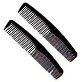 JSBAN Peines de peluquería antiestática Estilista, diseño de Cabello Multifuncional Dentangler de Peinado Maquillaje Peluquería Haircare Styling Set (Color : 04 1 Set 2 Pieces)
