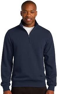 Sport-Tek 1/4-Zip Sweatshirt>2XL True Navy ST253