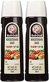 Bull-Dog Worcestershire Sauce 16.9 Fl Oz  2 Bottles