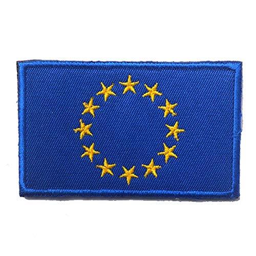 Vlag van de Europese Unie Geborduurde Airsoft Paintball Cosplay patch
