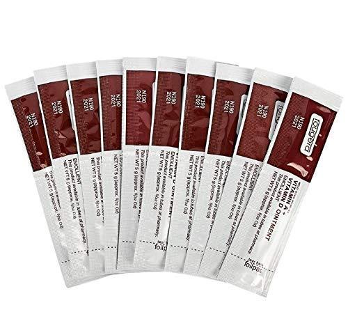 Crema de cuidado tras SPMU / Microblading / Maquillaje Permanente – Humectante de vitamina A y D (Paquete de 10)
