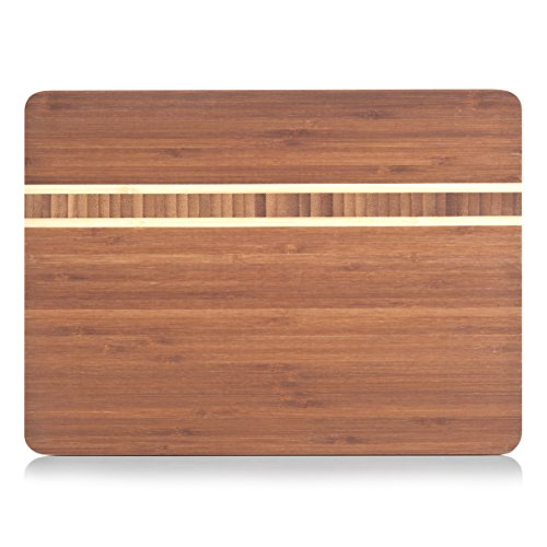 Zeller 25236 - Tagliere in bambù, 25 x 34 x 1,5 cm