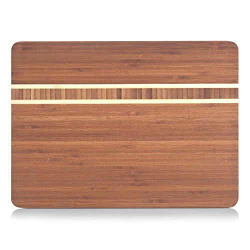 Zeller 25236 Schneidebrett 34 x 25 x 1.5 cm, Bamboo