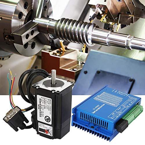 150W 23 Servomotor de bucle cerrado Motor paso a paso de engranajes metálicos Juego de línea de serie 2N.M para máquina CNC