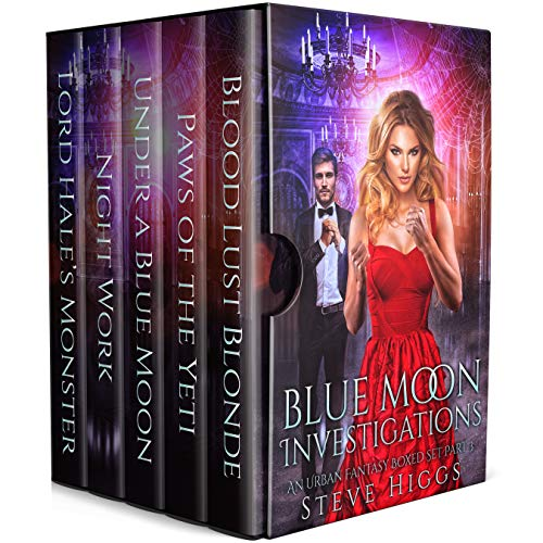 Blue Moon Investigations: A Humorous Fantasy Adventure Series Boxed Set Part 3 (Blue Moon box sets) (English Edition)