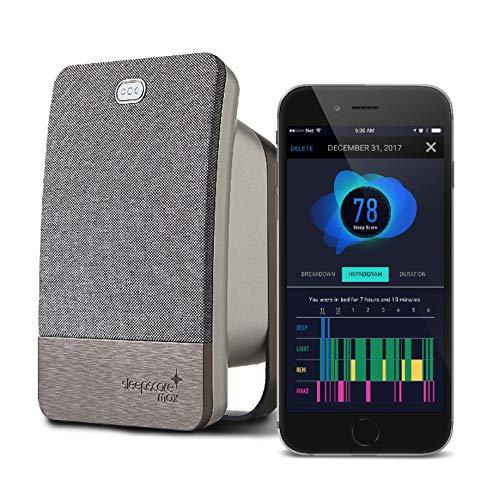 SleepScore Max   Sleep Tracking Device with Most Advanced Sleep Improvement System and a Companion Sleep Tracking Smart Phone App