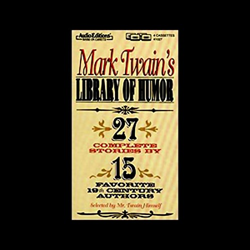 Mark Twain's Library of Humor  Audiolibri