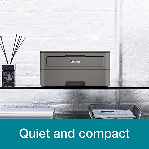 Brother HL-L2370DN Kompakter S/W-Laserdrucker (34 Seiten/Min., A4, echte 1.200x1.200 dpi, Duplexdruck, 250 Blatt Papierkassette, USB 2.0, LAN)
