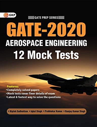 GATE Aerospace Engineering 12 Mock Tests By GKP