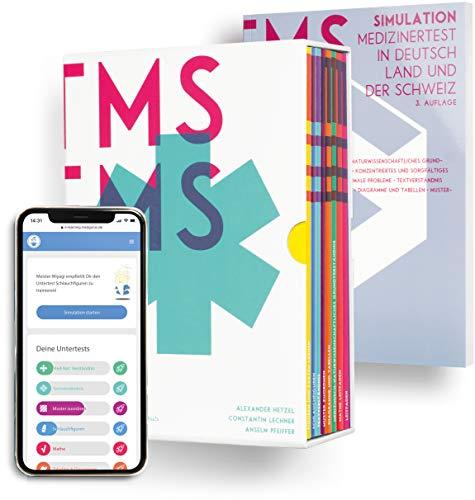 Komplettpaket zur TMS & EMS Vorbereitung 2021 I Exklusives Paket aus Kompendium, E-Learning und TMS-Simulation | Vorbereitung auf den Medizinertest in Deutschland und der Schweiz
