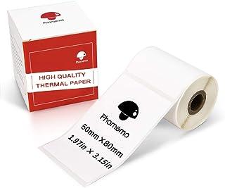 per stampante tascabile PAPERANG portatile 5 rotoli di carta adesiva stampabile Leoboone 57 x 30 mm