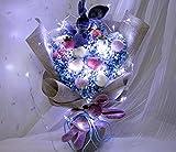 LHY konservierte frische Blume Rose Geschenkbox echte Rose Blume, ideal for Valentinstag, Muttertag Mode