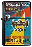 Briquet Tempete A Essence Rarement Imprimé Course de Maroc