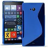 Conie SC19512 S Line Case Kompatibel mit Microsoft Lumia