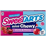 SweeTARTS Mini Chewy Candy, Berry, 3.75 oz...