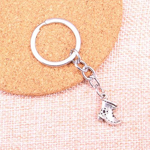 Taoziaa ouderwetse antieke laarzen schoenen charm hanger sleutelhanger sleutelring ketting accessoires sieraden
