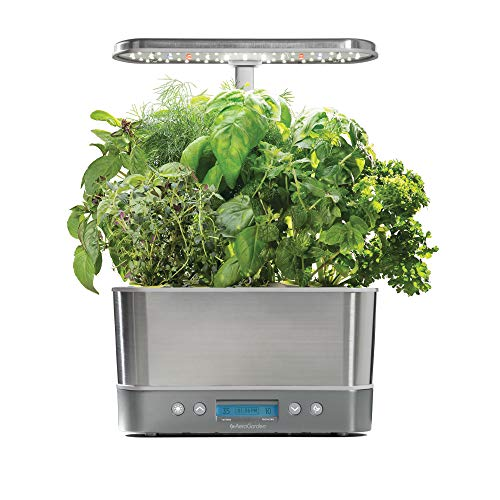 AeroGarden Harvest Elite - Stainless Steel