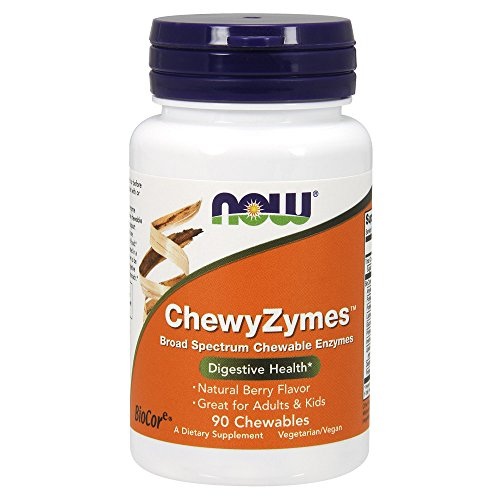 Now Foods Chewyzymes - 90 Chewables - 90 Tabletas