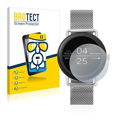 [1 Pack] Protector Pantalla Skagen Smartwatch Falster (42mm) Cristal Vidrio - AirGlass Glass Screen Protector
