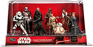 disney store star wars the force awakens deluxe figure play set new with box