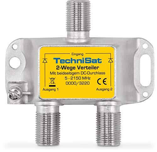 TechniSat 2-Wege Sat-Verteiler (diodenentkoppelter...