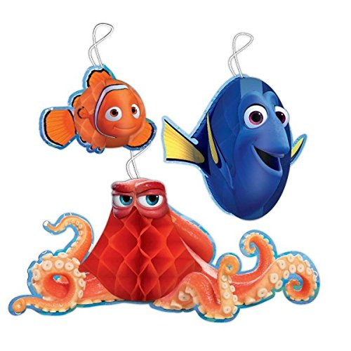 amscan International 291594-55 Finding Dory Honeycomb Hanging Decoration