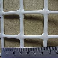トリカルネット プラスチックネット CLV-N-34w-1000 白 大きさ:幅1000mm×長さ5m 切り売り