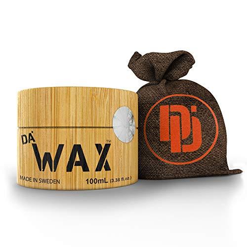 Da Dude Da Wax Migliore Cera-Opaca-Per-Capelli-Uomo-Professionale Extra-Forte In Un Esclusivo Contenitore in Legno e Confezione Regalo