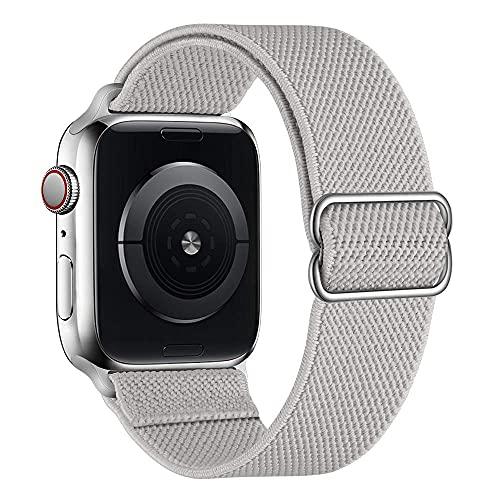 Correas de cuero para Apple Watch Correa de 44 mm, 42 mm, 40 mm, 38 mm, repuesto para hombres y mujeres, correa de cuero genuino para iWatch SE Series 6, 5, 4, 3, 2 1, Sport, edición