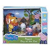 Peppa Pig Conjunto de Leo El León Día en el Zoo