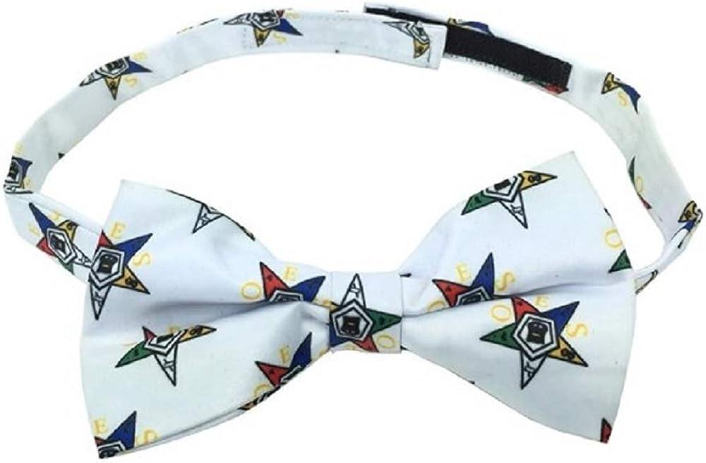 100% Silk Masonic Order of Eastern Star Bow Tie