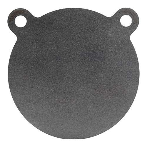 ShootingTargets7  AR400 Steel Gong Target  6 x 3/16 inch for Pellet and 22lr Laser Cut USA Steel