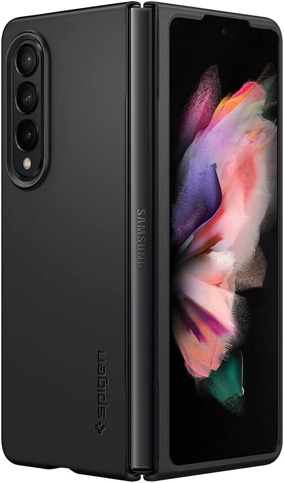 Spigen Air Skin Designed for Galaxy Z Fold 3 5G Case (2021) - Black