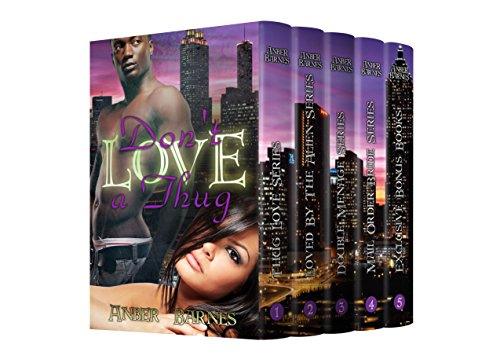Don't Love a Thug: Urban Romance Boxed Set (BBW, New Adult African American Urban Hood Romance) (New African American BBW Contemporary Urban Thug Hood Romance) (English Edition)