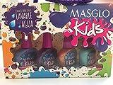 KIT MASGLO KIDS SIMPÁTICA-Esmaltes de uñas infantil...