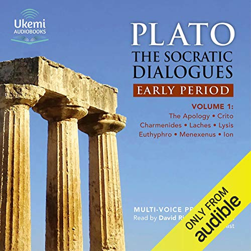 Couverture de The Socratic Dialogues: Early Period, Volume 1