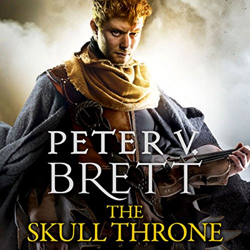 The Skull Throne     The Demon Cycle, Book 4              By:                                                                                                                                 Peter V. Brett                               Narrated by:                                                                                                                                 Colin Mace                      Length: 23 hrs and 54 mins     145 ratings     Overall 4.4