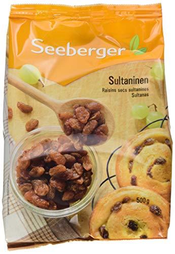 Seeberger Sultaninen extra ungesüsst, 8er Pack (8 x 500 g Packung)