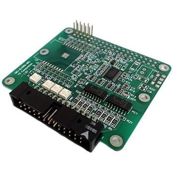 ワイツー I2C 絶縁デジタル入出力ボード ラズベリーパイ拡張ボード DIO-8/4RD-IRC