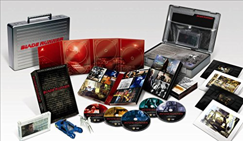 RARE BLADE RUNNER Rare Collectors' Edition 25 Anniversary 5-Disc DVD Set Briefcase New Sealed +MORE