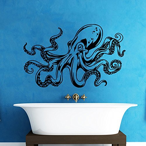 Large Wall Decal Vinyl Sticker Decals Octopus Sprut Tentacles Crown King Z2051