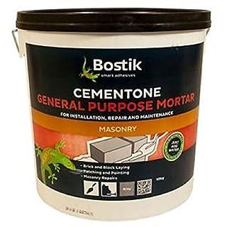 Bostik 30812805 10 kg Cementone General Purpose Mortar - Grey (B01D8FRG46) | Amazon price tracker / tracking, Amazon price history charts, Amazon price watches, Amazon price drop alerts