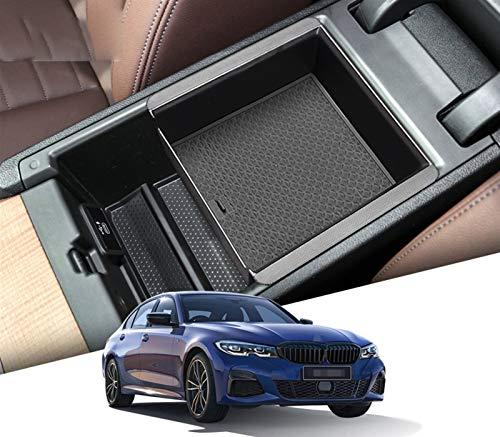 Hcxh-A Caja Central del apoyabrazos para BMW 3 Series 2019 2020 4 Series 2021 G20 330i 320 325 M340i Stowing Tipeding Center Console Organizer (Color Name : 19 20BMW 3 Box)