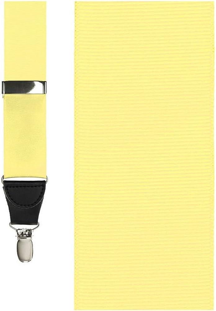 Grosgraine Ribbon Suspenders
